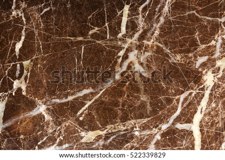 white patterned detailed structure of dark brown marble texture for interior design, abstract natural background