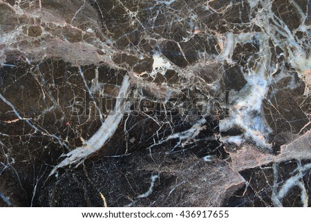 White patterned natural of dark marble patterned texture background.