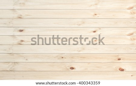 white pine wood plank texture and background - stock photo