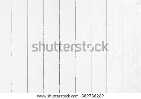 White plank - stock photo