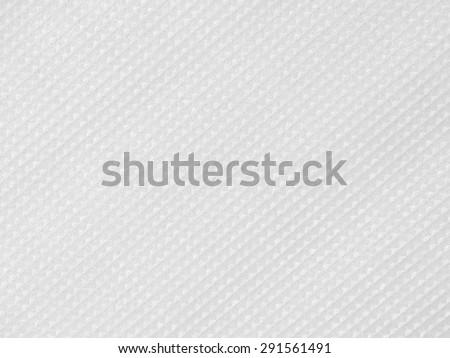 White Plastic Foam Texture - stock photo