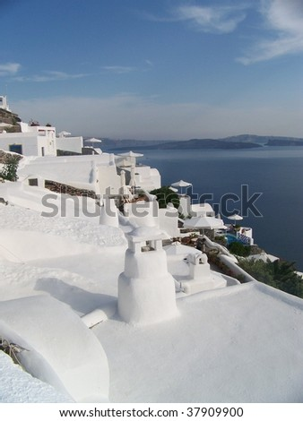 White Roof Landscape