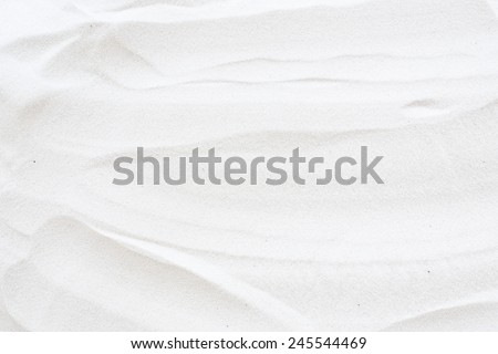 white sand surface - stock photo