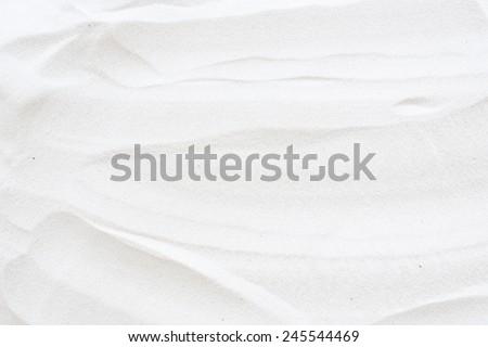 white sand surface - stock photo