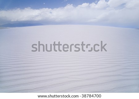 White Sands National Monument, New Mexico, USA.