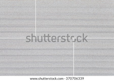 White sandstone tile wall texture and background - stock photo