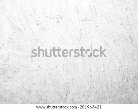 White scratched texture - stock photo