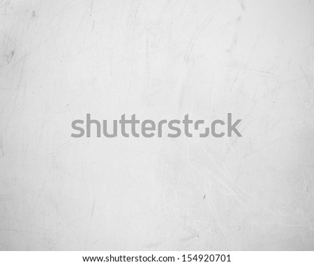 White Scratchy Plastic Texture - stock photo