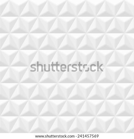 White seamless texture - stock photo