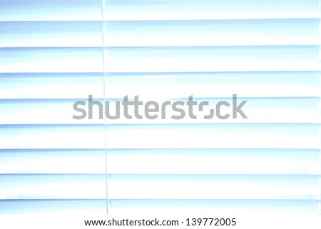 White shutters close-up background - stock photo