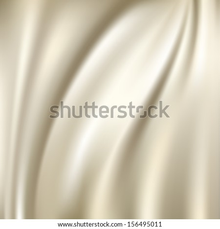 White silk fabric for backgrounds, raster version of vector - stock photo