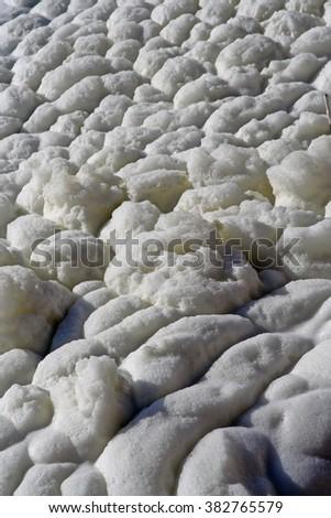 White skim. - stock photo