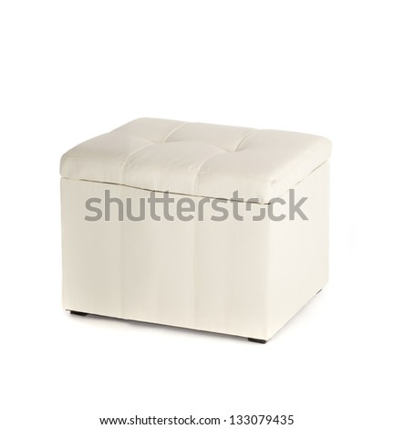 White sofa for foot