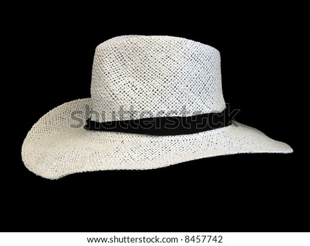 White Stetson - stock photo
