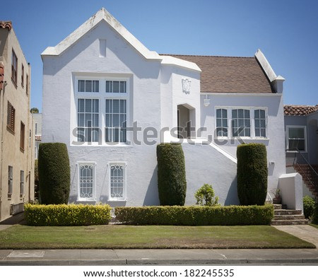 Stucco house stock images royalty free images vectors for Florida stucco
