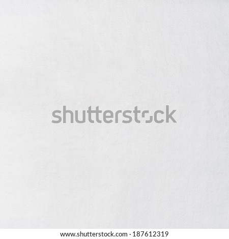 white stucco wall  texture background - stock photo