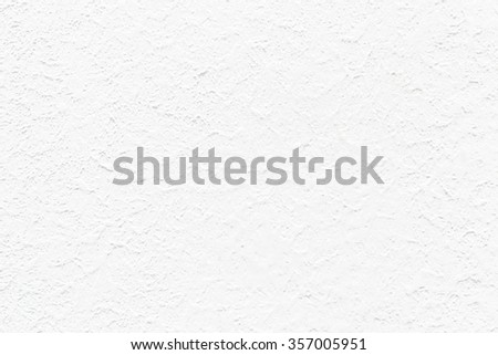 White stucco wall texture background - stock photo