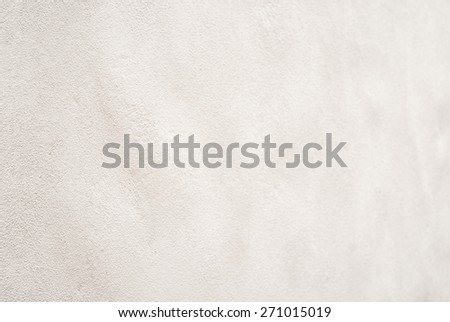 white stucco wall with diminishing perspective background - stock photo