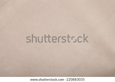 white suede chamois texture, fluffy and soft background texture - stock photo