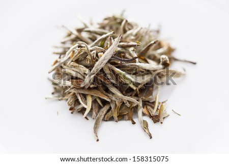 white tea - stock photo