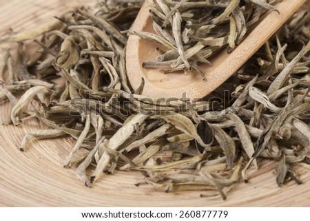 White tea. - stock photo