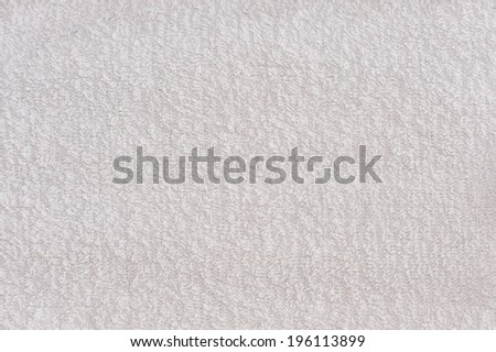 white terry cloth texture - stock photo