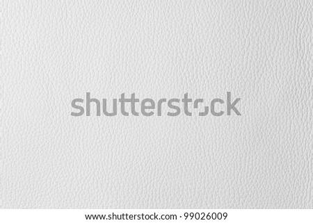 white texture leather - stock photo