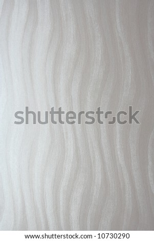 White textured paper, abstract wavy background - stock photo