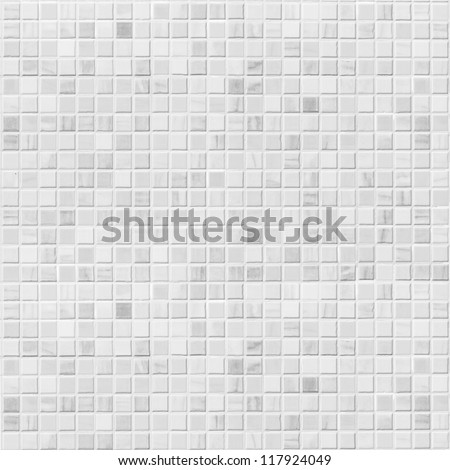 white tile wall - stock photo