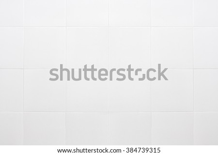 White Tiles marble wall background. - stock photo