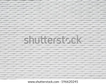 white tiles modern style surface background texture - stock photo
