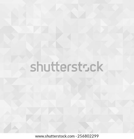 white triangle - stock photo