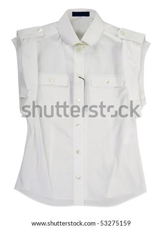 white vest - stock photo