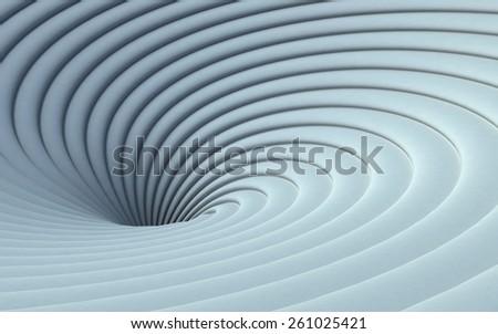 White Vortex - stock photo