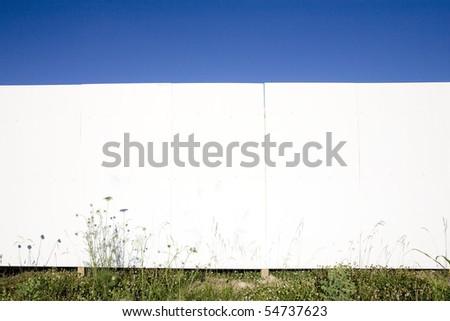 white wall background - stock photo
