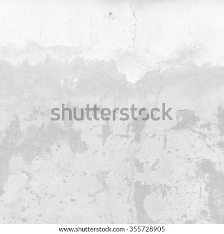 white wall peeling paint texture grunge background - stock photo