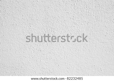 White wall texture for your design - stock photo