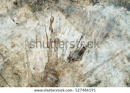 Stain on old cement texture abstract stock photo 477131722 for Removing dirt stains from concrete