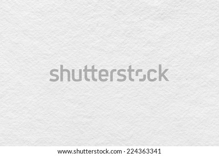 White watercolor paper texture background - stock photo