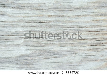 White weathered wood siding with pattern - stock photo