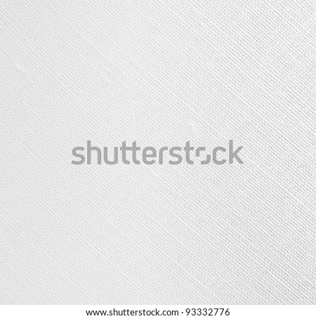 white weave material - stock photo