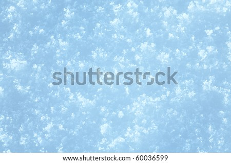 White winter snow surface (background)