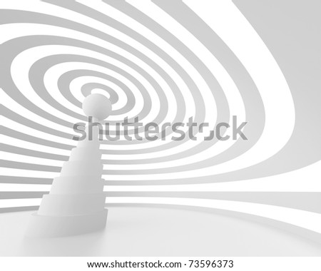 White Wireless Background - stock photo