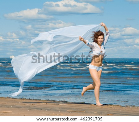 White Woman & Wind