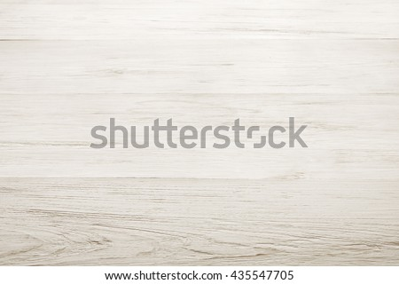 White wood floor texture and background. White painted wood texture background. Rustic, shabby chick wooden background. Aged wood planks pattern. Wooden surface. Horizontal timber texture - stock photo
