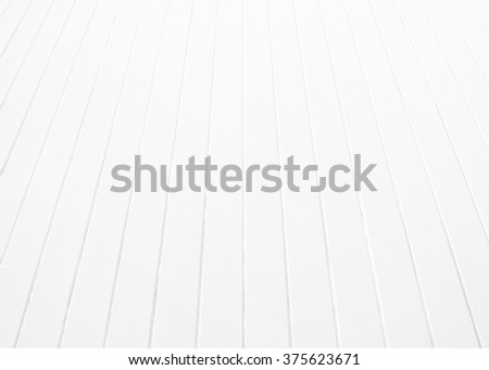 White wood plank floor. Grey top table wooden texture background. House wall painted. Grey desk pattern top view. Stage with hardwood floors sepia tones. - stock photo