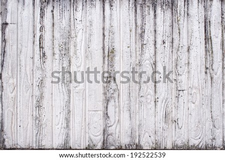 White Wood Texture Background Pattern ,stained - stock photo