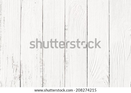 white wood texture backgrounds - stock photo