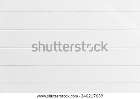 White wood wall background. - stock photo