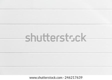 White wood wall background. - stock photo